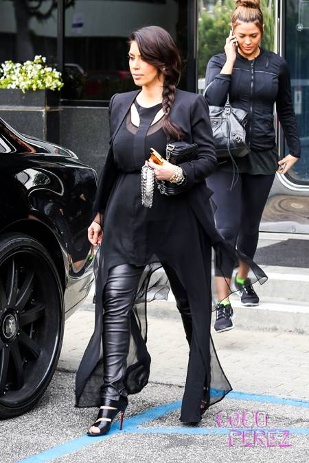 kim-kardashian-weird-black-duster-sheer-outfit-louboutins__oPt