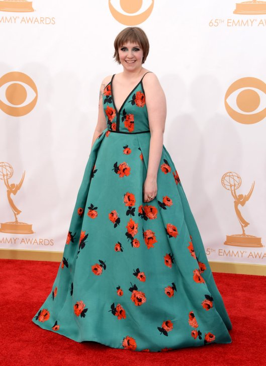 Lena-Dunham-Emmy-Awards-2013-Pictures