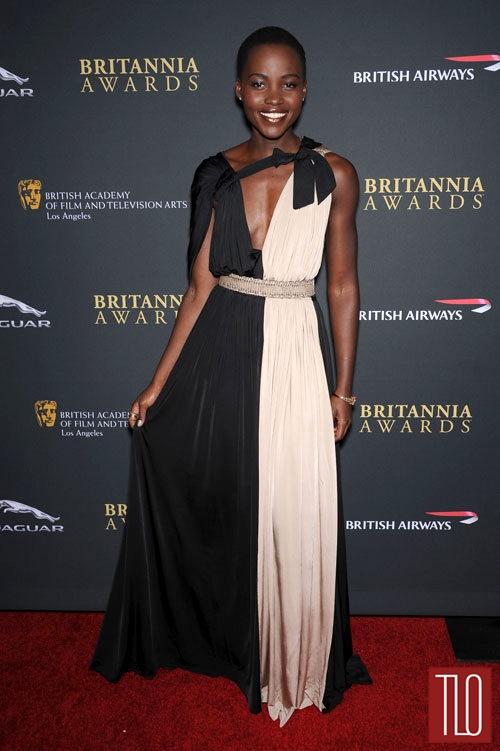 Lupita+Nyongo+Lanvin+2013+BAFTA+LA+Britannia+Awards+1